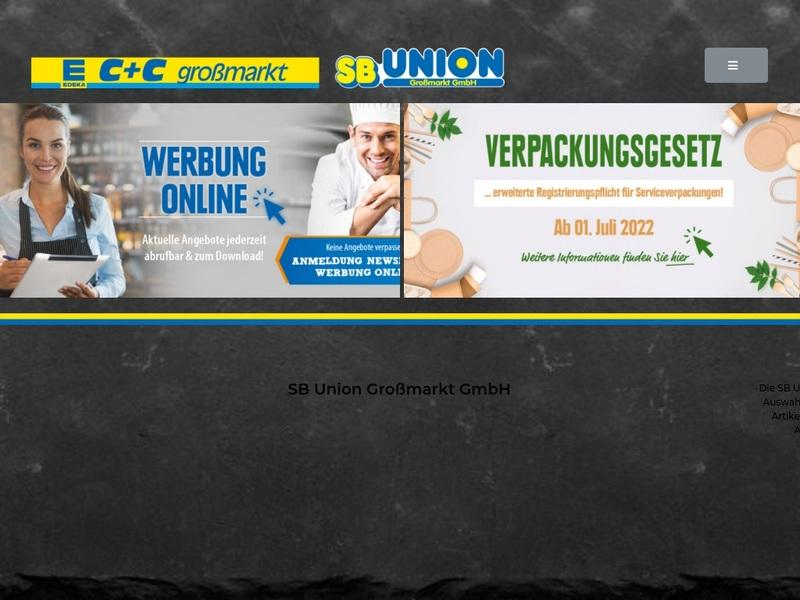 Screenshot von http://www.sbunion.de
